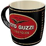 Nostalgic-Art Retro Kaffee-Becher - Moto Guzzi - Logo Motorcycles, Große Lizenz-Tasse mit Moto Guzzi-Motiv, Vintage Geschenk-Idee, 330 ml