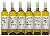 Lot de 6 Domaine du Tariquet Premières grives Blanc 75cl IGP Côtes de Gascogne