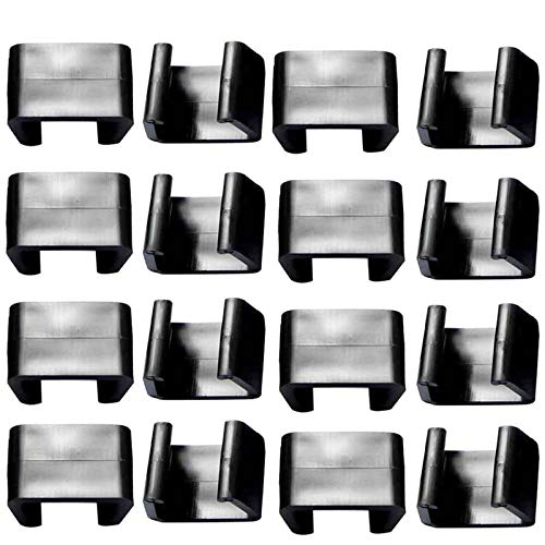16 PCS Outdoor Patio Furniture Clips for Patio Sectional Sofa Rattan Furniture Clips Chair Fasteners Connect The Sectional or Module Outdoor Couch Patio Furniture