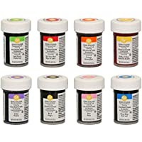 bakeryteam Colorantes alimentarios Wilton en set de 8 unidades - Edición bakeryteam