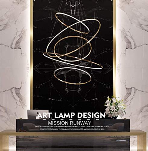 SHIJING Sala lampadario Raccogliere Alta Hop Cava Hotel Club su Due Piani la Costruzione di Soggiorno Creativo di Design Minimalista lampadario