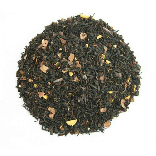 NY BROWNIE Gourmet 100gr. Té negro, chocolate blanco, chocolate negro, cáscaras de cacao, crocante, aroma.