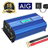 Power Inverter 2000w DC 12Volt to AC 120Volt with 3AC Outlets Dual 2.4A USB Ports Remote Control LCD...