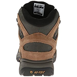 Hi-Tec Men's Bandera Mid Waterproof Hiking Boot, Bone/Brown/Mustard, 10.5 W US
