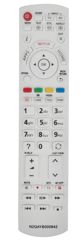 ALLIMITY N2QAYB000842 Mando a Distancia reemplazado por Panasonic 3D Smart TV TX-L42DT60E TX-LR42DT60 TX-L55WT60T TX-L42DTW60 TX-L47WT60T TX-LR55DT60 TX-LR55WT60 TX-LR60DT60 TX-LR65WT600: Amazon.es: Electrónica