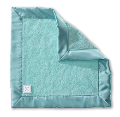 SwaddleDesigns Doudou Lovie, Puff Circles, Turquoise