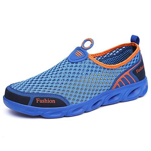 Aerlan Zapatos de Snorkel para Nadar,Suela de Goma Zapatos de Agua,Deportes de Malla Casual Transpirable Pareja río Arriba Zapatos-Baolan_43