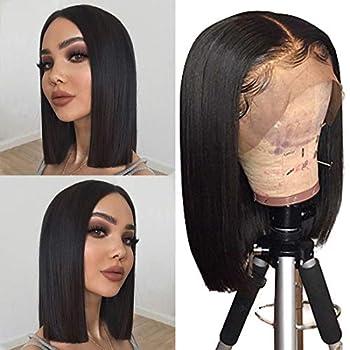 lace front bob cut wigs