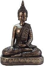 ZGPTX Resin Crafts Thai Bronze Buddha Statue Ornaments Home Feng Shui Decoration Southeast Asian Buddha Head Ornaments