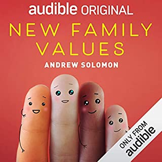 New Family Values audiobook cover art