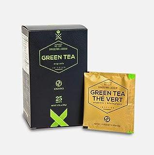 "Organo Gold Premium ""The Vert"" Green Tea Made With with Organic Ganoderma Lucidum US Packaging (1 Box))"