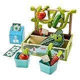 Fisher-Price Kit de jardinería, juguetes construcción niños +3 años (Mattel GGT62)