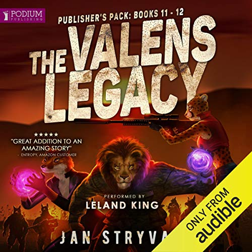 Page de couverture de The Valens Legacy: Publisher's Pack 6