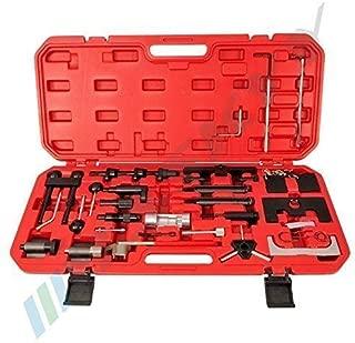 ClookYuan Universal Cam Nockenwellensperrhalter Auto Motorsteuerung Locking Tool Doppel//Einzel Nockenwellenhalter Zahnriemen Fix Wechsler Rot