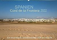 Conil de la Frontera - Ein traumhaftes andalusisches Dorf am Atlantik (Wandkalender 2022 DIN A2 quer): Einblicke in ein bezauberndes Dorf im Herzen von Andalusien (Monatskalender, 14 Seiten )
