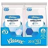 Kleenex Feuchttücher Gentle, Ideal zur sanften Reinigung von Händen und Gesicht, 98% Wasser, Aloe...