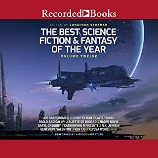 The Best Science Fiction and Fantasy of the Year, Volume 12 cover art