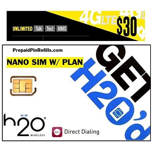 H2o Sim Card: Amazon com