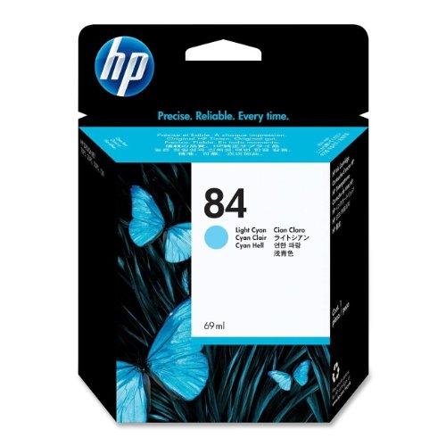 HP 84 Cyan hell Original Tintenpatrone, 69 ml