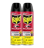Raid Ant & Roach Killer Insecticide Spray, Lemon, 17.5 oz-2 pk