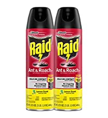 Roach Spray kills on contact and keeps killing with residual action for up to 4 weeks Kills Roaches, Ants, Silverfish, Crickets, Earwigs, Household Spiders, Multicolored Asian Lady Beetles, Stinkbugs, Scorpions, and Black Widow Spiders Leaves no ling...