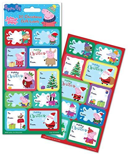 Etiquetas Navidad Regalo Adhesivas Marca Paper Projects