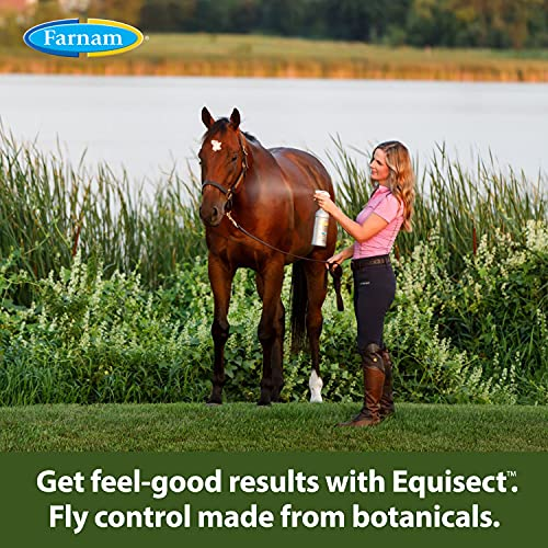 Farnam 3002536 Equisect Botanical Fly Repellent for Horses, Dogs and Cats, 32 Fl Oz (Pack of 1), None