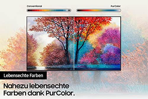 Samsung Crystal UHD 4K TV 55 Zoll (GU55AU7179UXZG), HDR, Q-Symphony, Boundless screen [2021]
