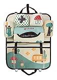 Auto Rücklehnentasche Organizer Kinder Multi-Tasche Cartoon Autositz Zurück Aufbewahrungsbeutel Hängen Auto Organizer Taschen Flasche Kühltasche Auto Zubehör Utensilien-Tasche