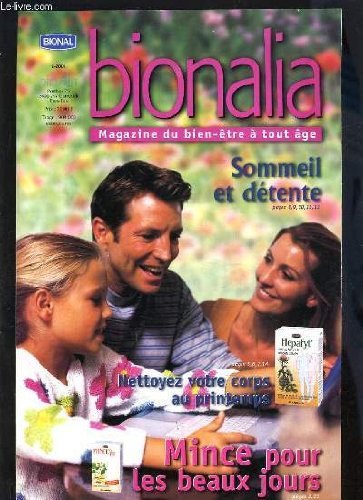 BIONALIA N°1 - SOMMEIL ET DETENTE