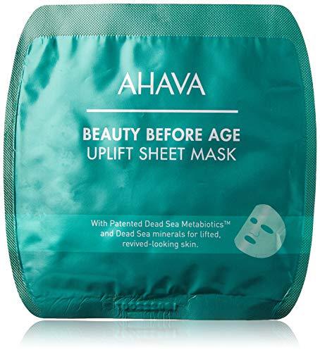 AHAVA Beauty Before Age Uplift Sheet Mask - Anti-Aging Tuchmaske, 2er Pack(2 x 1 Stück)