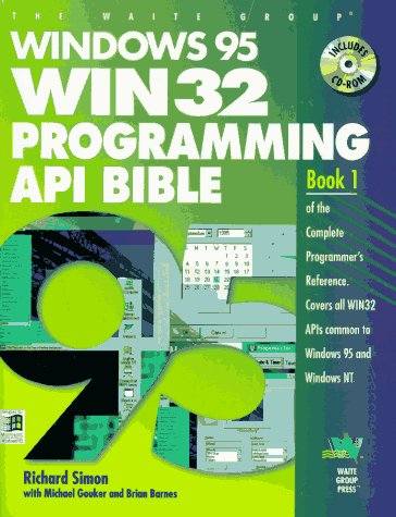 Windows 95 Win 32 Programming Api Bible (Complete Programmer's Reference)
