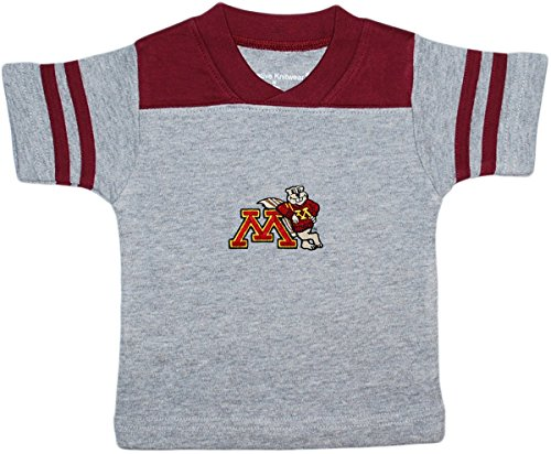 University of Minnesota Golden Gophers Goldy Baby Sport Shirt