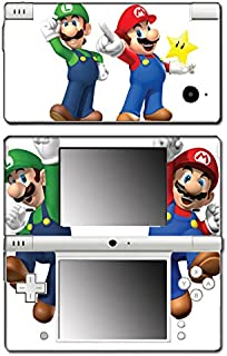 New Super Mario Bros 3D Land World 2 Luigi Star Video Game Vinyl Decal Skin Sticker Cover for Nintendo DSi System