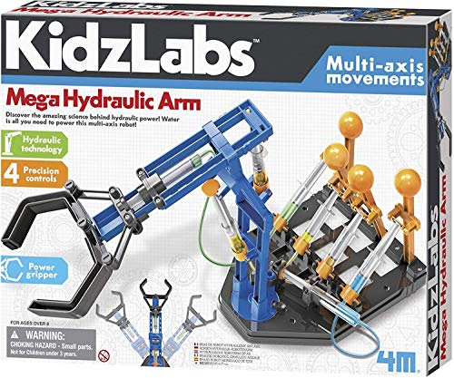 4M Mega Hydraulic Arm Robotic Science Kit