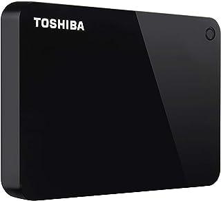 HD Externo Toshiba 2TB Canvio Advance PRETO - HDTC920XK3AA