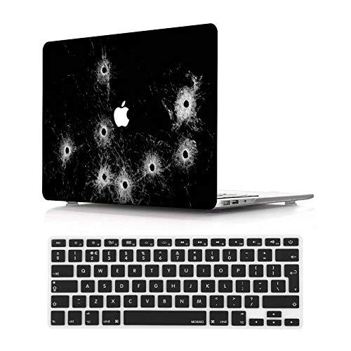 NEWCENT MacBook Pro 15' Funda,Plástico Ultra Delgado Ligero Cáscara Cubierta EU Teclado Cubierta para MacBook Pro 15 Pulgadas con Touch Bar Touch ID 2016-2018 Versión(Modelo:A1707/A1990),Diablo 26