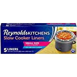 Reynolds Kitchens Slow Cooker Liners, Small (Fits 1-3 Quarts), 5 Count