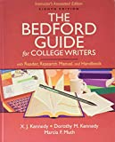 The Beford Guide for College Writers - Instructor's Annotated Edition (With Reader, Research Manual and Handbook)