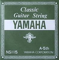 YAMAHA NS115 A-5th 0.92mm クラシックギター用バラ弦 5弦×12本
