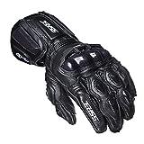 ALI-SP バイク グローブ 本革手袋 通気 防風 バイク用品 防水 7107 黒(M)