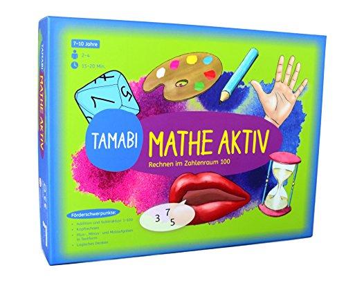 """Tamabi Mathe Spiele & Rechenspiele ab 2. Klasse Mathe aktiv""""- Rechnen im Zahlenraum 100, Spiele Mathematik Grundschule, Lernspiele ab 6 Jahre für mehr Spaß beim Rechnen"""