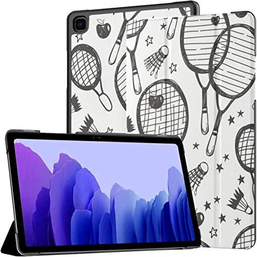 Raqueta de bádminton y Raqueta de Tenis Funda para Tableta Samsung Galaxy Galaxy Tab A7 Funda de 10,4 Pulgadas para Tableta Funda Galaxy Tab A7 con activación/Reposo automático F