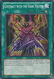 Yu-Gi-Oh! - Contract with the Dark Master (LCYW-EN128) - Legendary Collection 3: Yugi's World - Unlimited Edition - Common