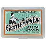 Gentleman Jon 3.7 Ounce Alum Block in Plastic Case 3