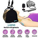 J.AKSO Nackenhängematte,Türknauf Tragbarer Entspannungsstütze gegen Nacken/Rückenschmerzen - Linderung von Verspannungen,Stress, Muskelbeschwerden/Kopfschmerzen|Fördern Sie Schlaf