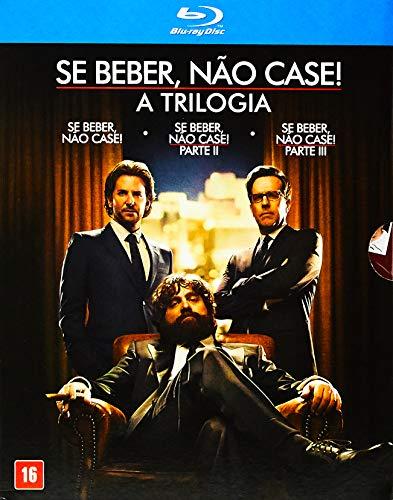 Trilogia Se Beber Nao Case [Blu-ray]