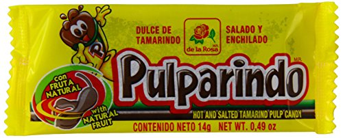 Pulparindo Tamarindo Pulp Candy Dulce 14g (Paquete de 20