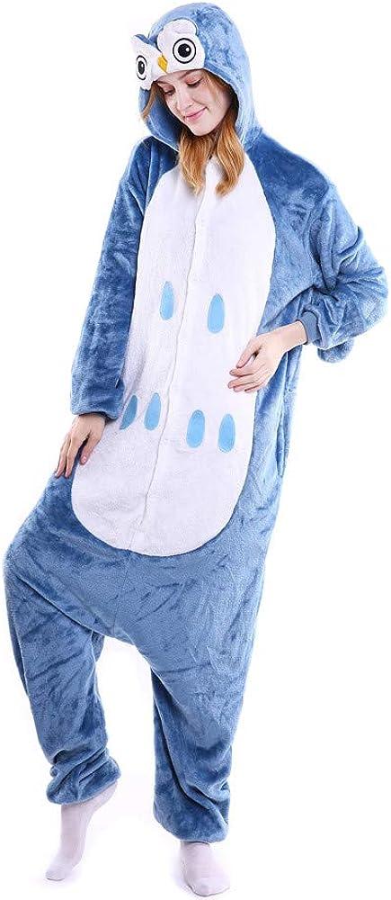 MEIbax Pijama Animal Unicornio Entero para Adultos Mono para ...
