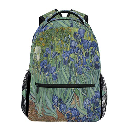 Van Gogh Sac à dos étanche pour école, gym, ordinateur portable, voyage, pour enfants, garçons, filles, hommes